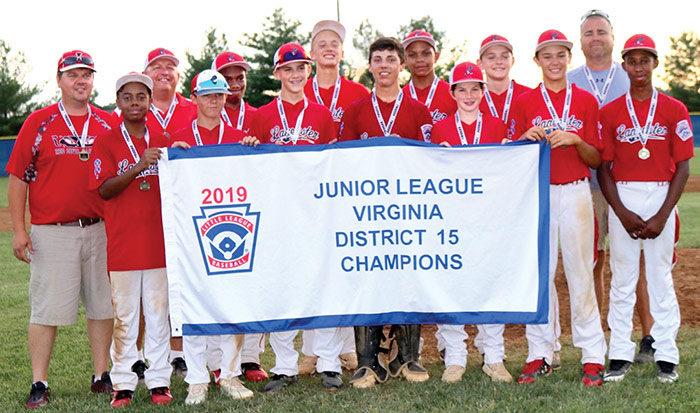 Lancaster County Junior League Baseball All Stars win state